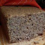 Chleb bezglutenowy na zakwasie bezglutenowym
