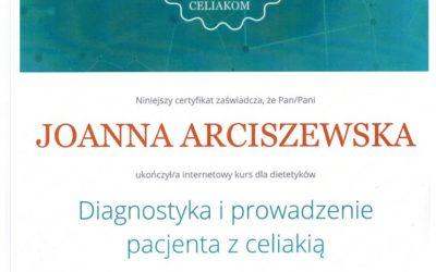 Diagnostyka i prowadzenie pacjenta z celiakią. Dietetyk Wrocław.