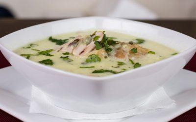 Zupa krem z kalafiora z kurczakiem